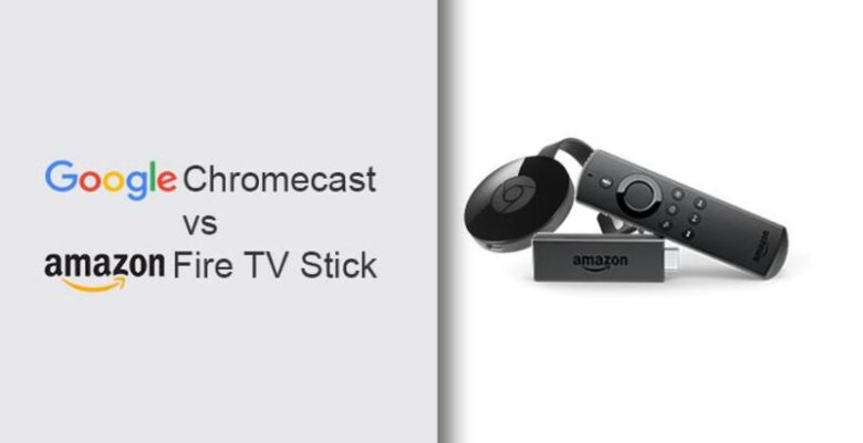 Google Chromecast (1, 2, 3) Vs Amazon Fire Stick 2019 ?
