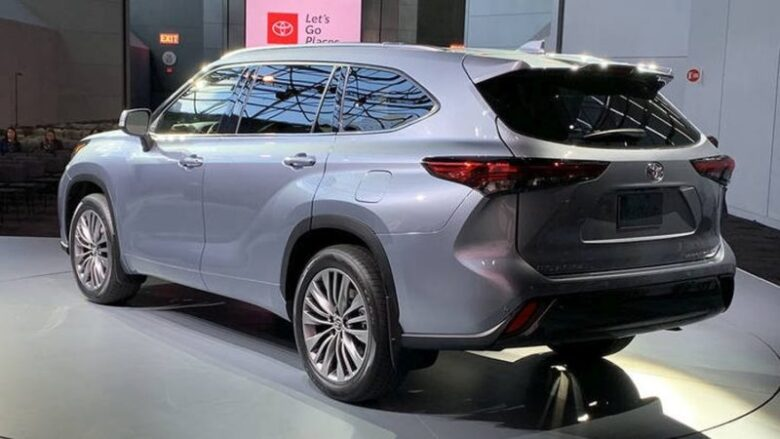 2020 Toyota Highlander Bigger Than Toyota Rav4 Demotix