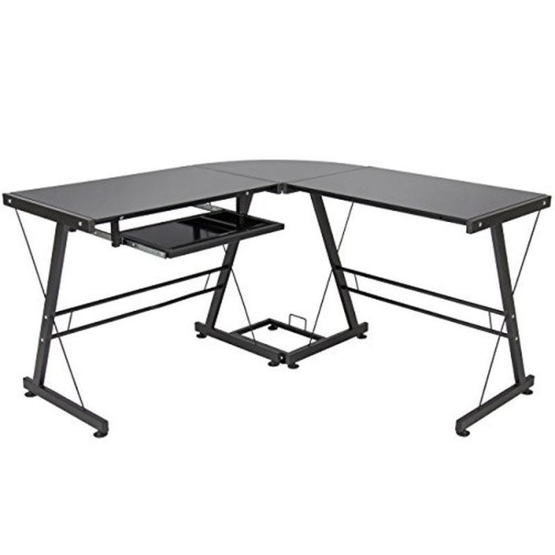 Best Choice Products L-Shape Computer Desk