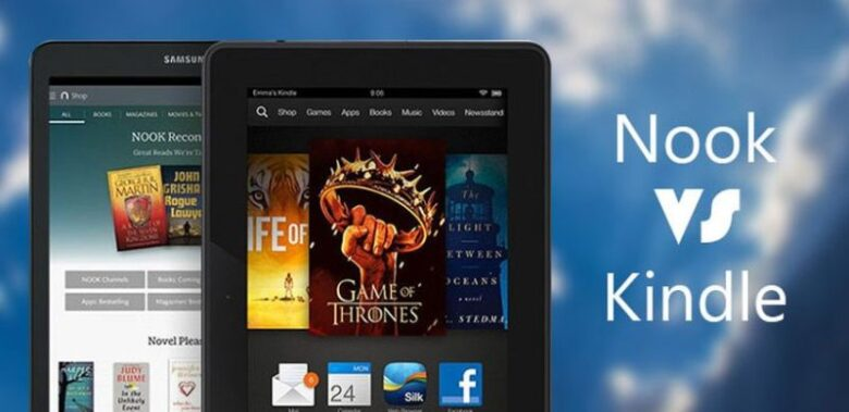Kindle vs Nook: Difference and Comparison - Touch Screen