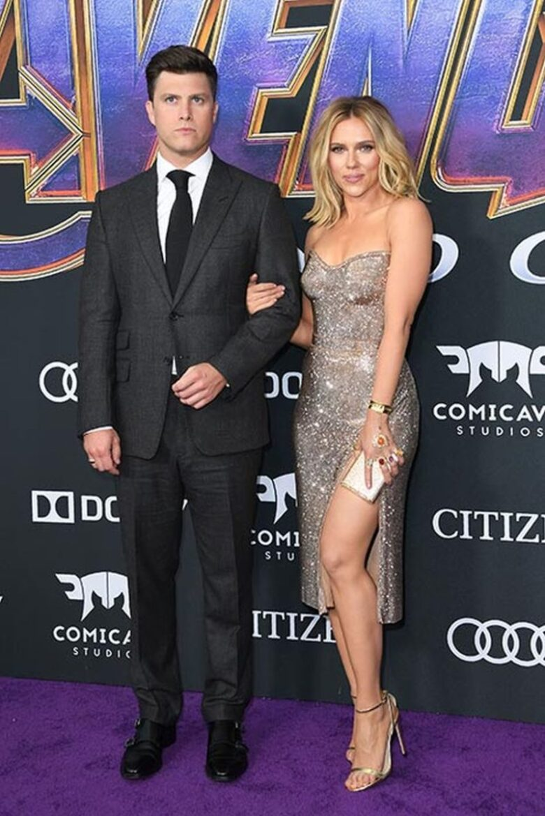 Scarlett Johansson Got Engaged To Colin Jost1