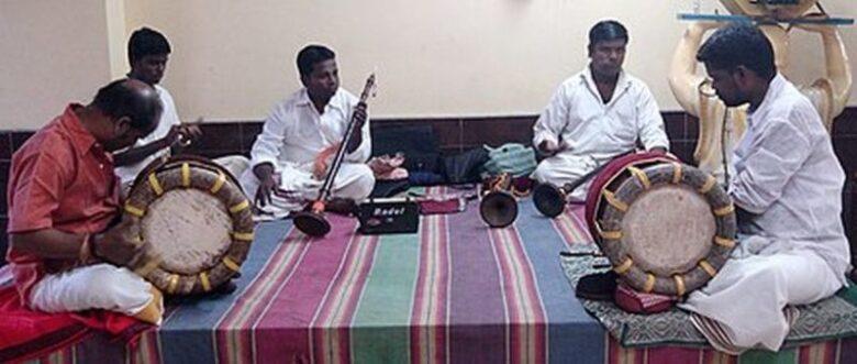Tamil Music troop