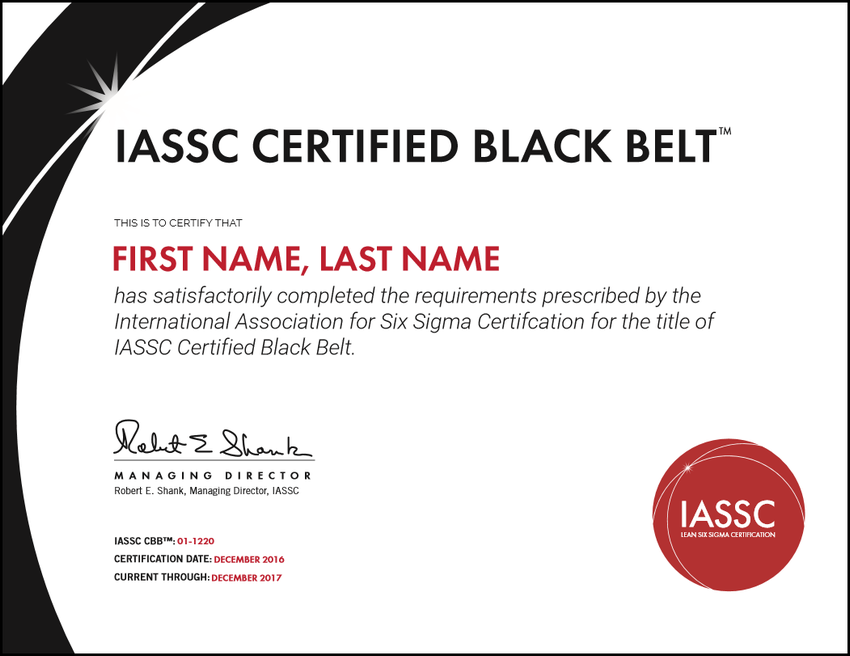 All You Need to Know About Six Sigma Black Belt