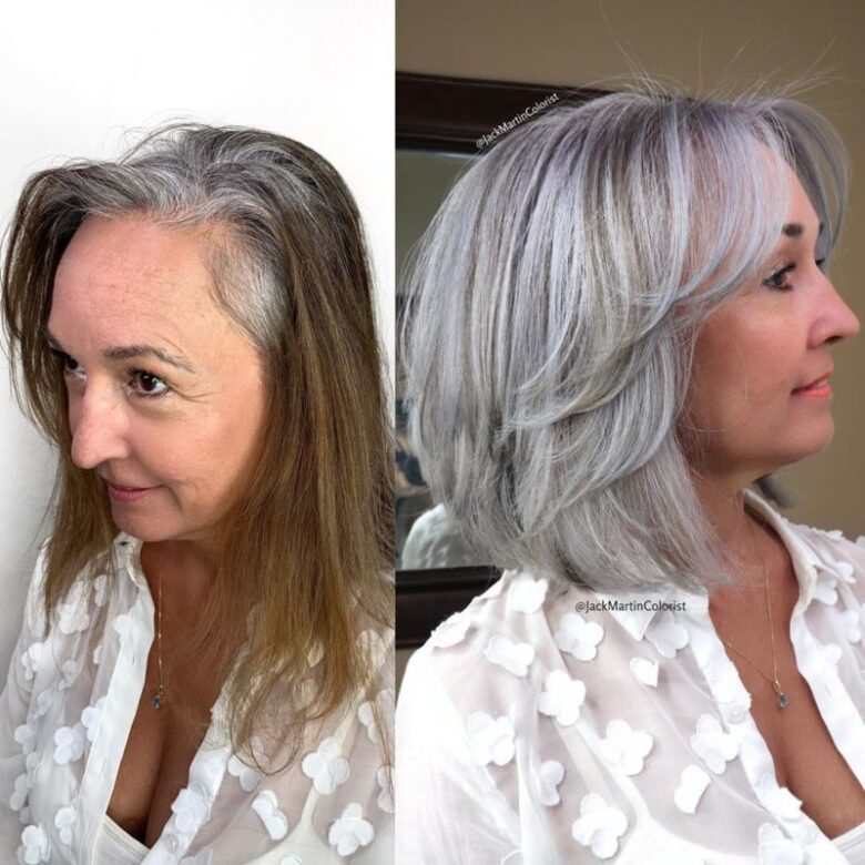 Medium Hairstyles For Women Over 60 23