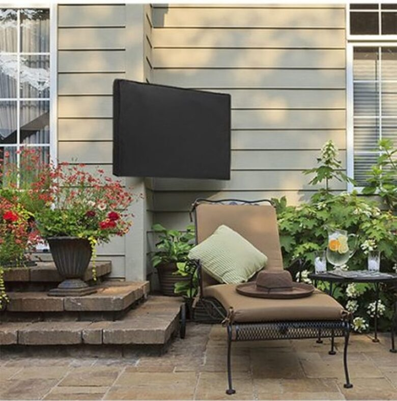 5 Reasons To Use An Outdoor TV Cover For Protecting Outdoor TV