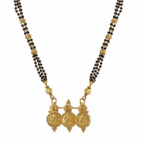 Make Way For These Gold And Diamond Long Mangalsutra Designs
