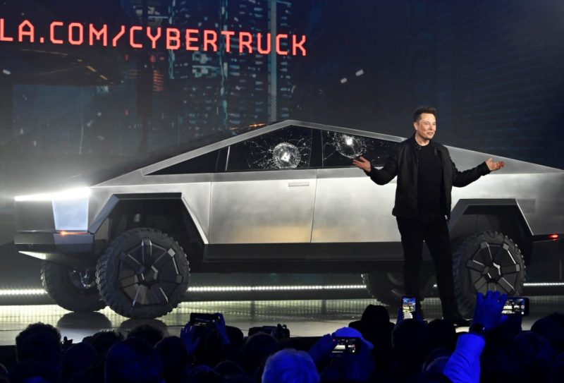 Tesla Introduces New Cybertruck and It Looks Like It Came ...