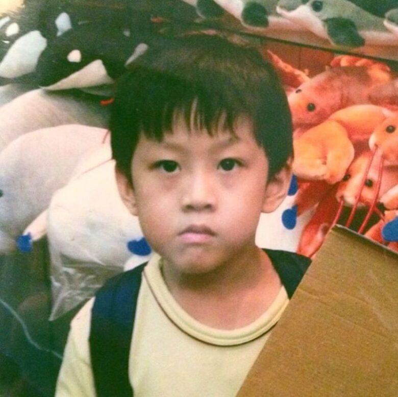 Rich Chigga as a kid