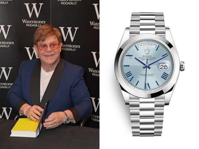 Elton John: Rolex Day Date