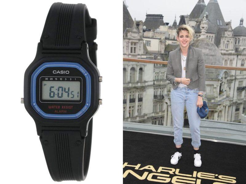 Kristen Stewart: Casio LA11WB-1
