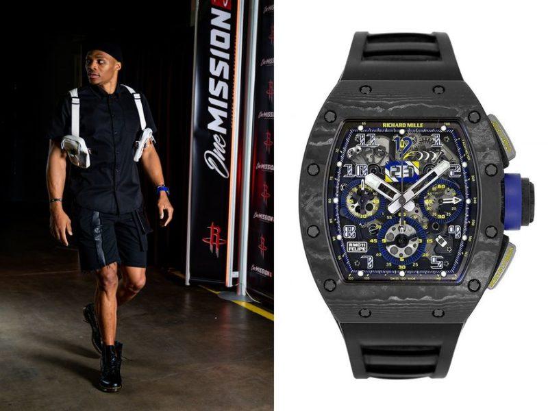"Russell Westbrook: Richard Mille RM-011 ""Felipe Massa"" 10th-Anniversary edition"