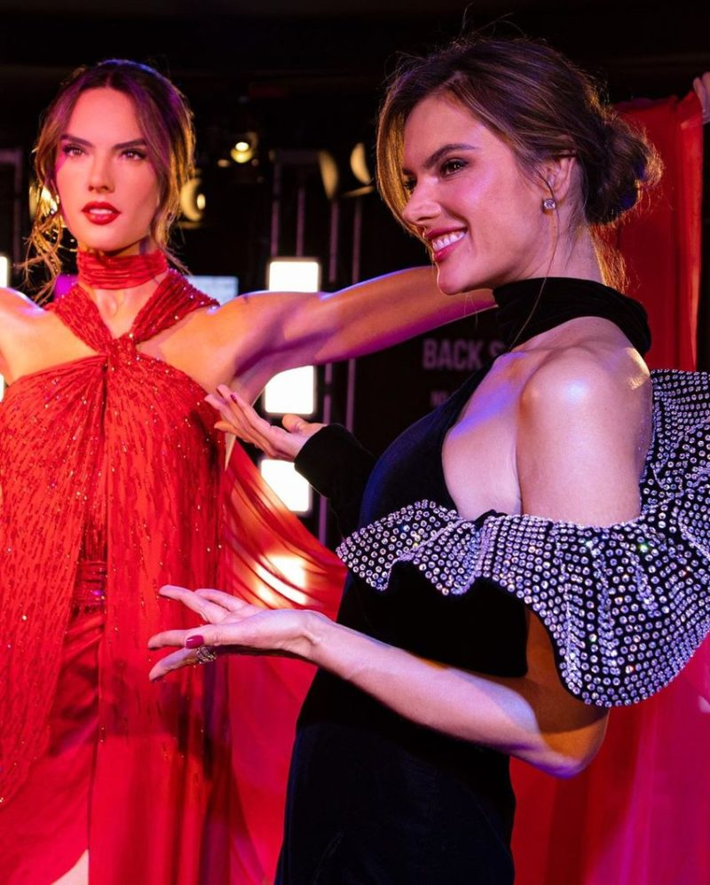 Alessandra Ambrosio Has a New Wax Figure at Madame Tussauds