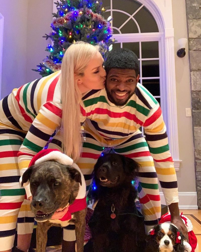 Lindsey Vonn Proposes to P.K. Subban