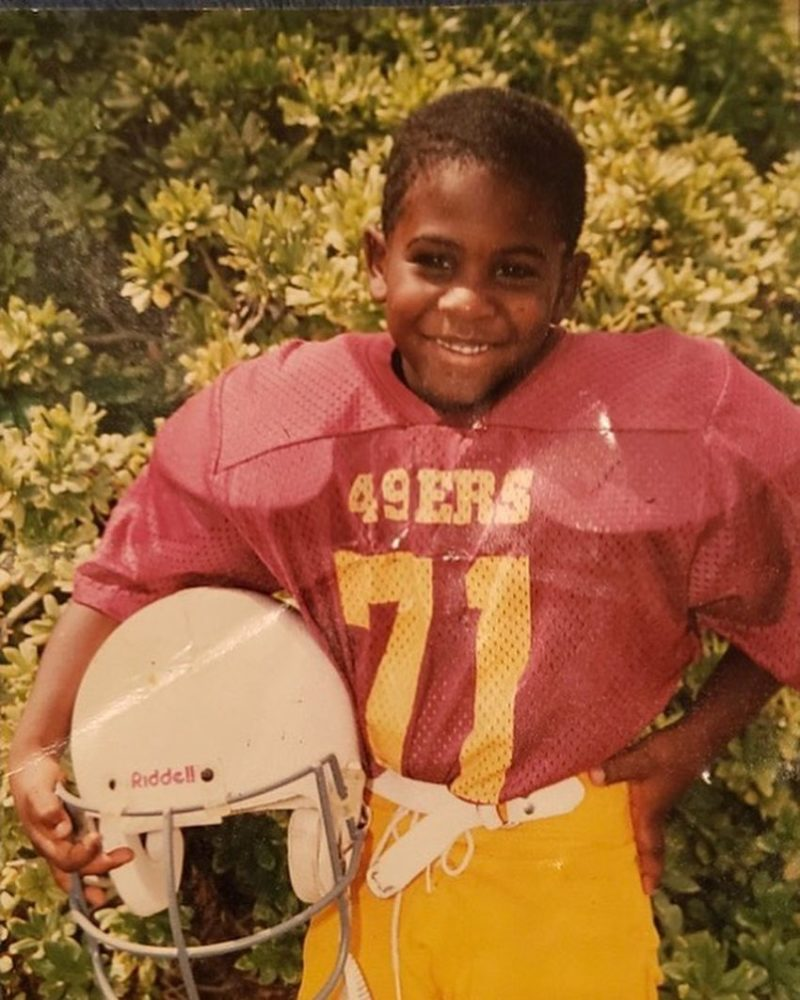 Jason Derulo as a kid