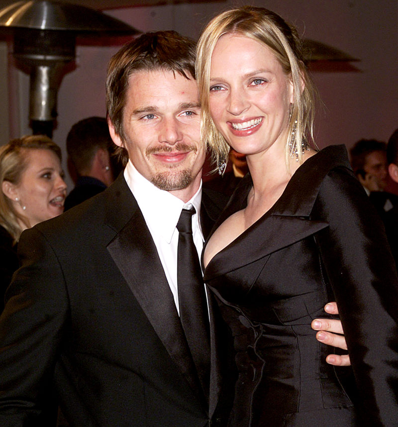Uma Thurman Talks About How Ethan Hawke Cheated on Her and ...