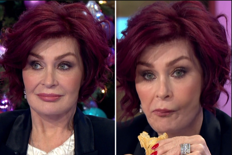 Sharon Osbourne S Face Is Swollen And She Is Suffering