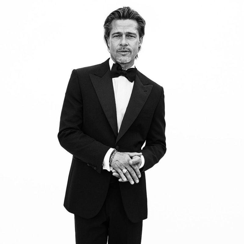 Brad Pitt Designs His Own Tuxedo