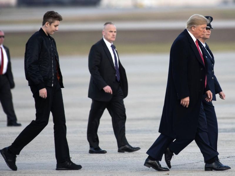 Barron Trump Should Pursue A Career In The Nba