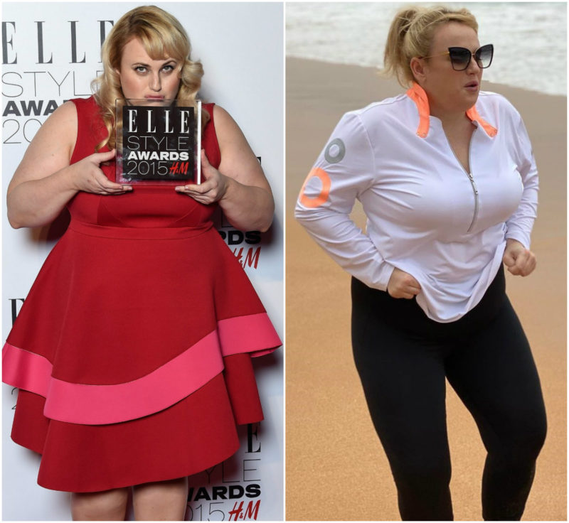 Rebel Wilson S Stunning Transformation Has Adele Started A New Trend Among Celebrity Plus Size Women Demotix