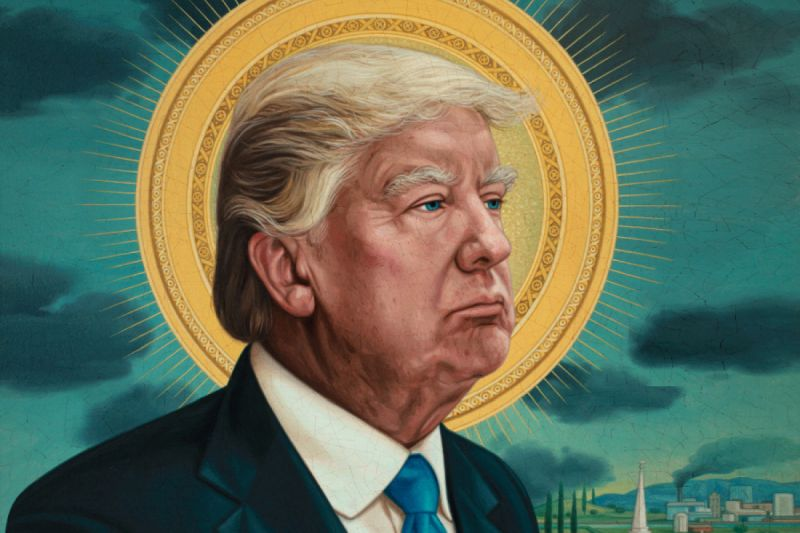 Donald Trump Gets Compared To Jesus By Chris Harris-6287