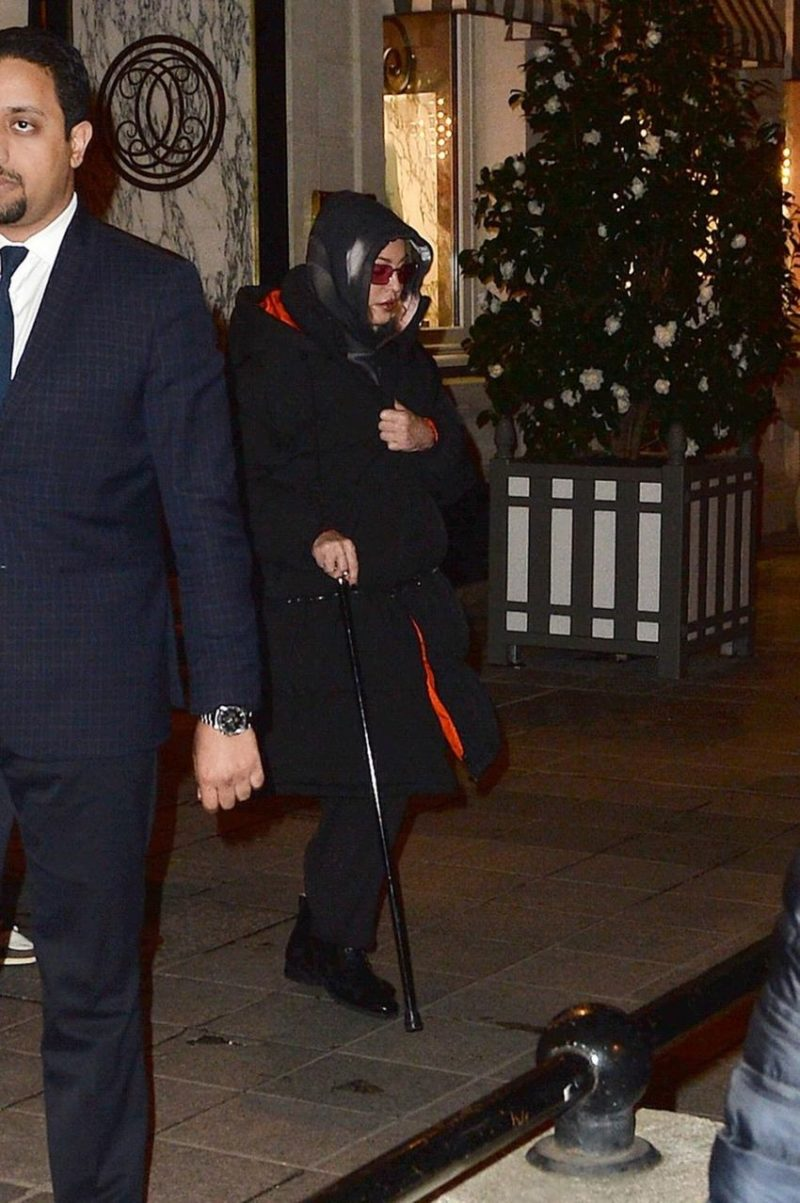 Madonna Spotted With a Walking Stick - DemotiX
