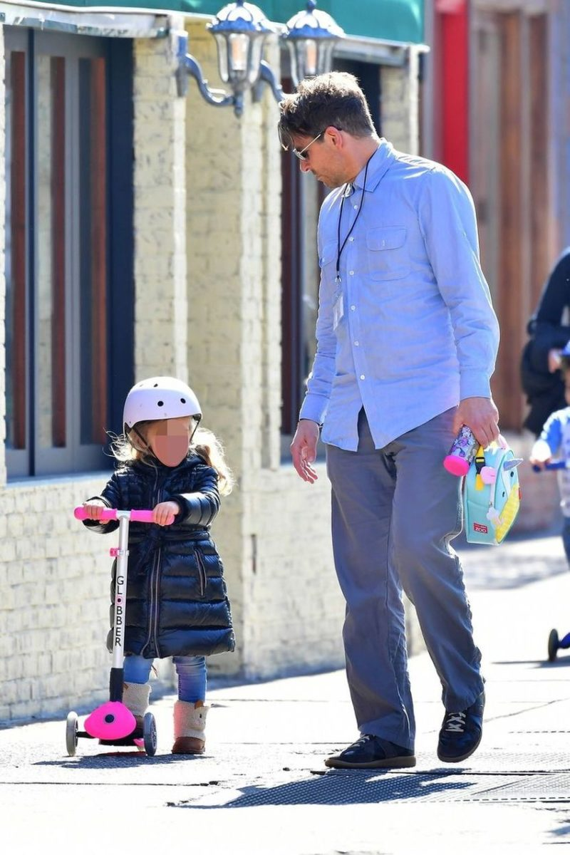Bradley Cooper Spends A Day With His Daughter Demotix