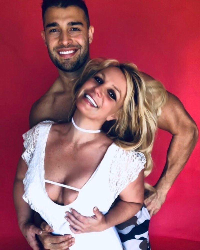 Britney Spears Wishes a Happy Birthday to Her Bae With Provocative Pics