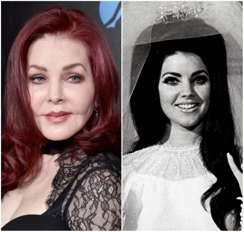 Priscilla Presley At 74 Looks The Same As On Her Wedding Day 53 Years Ago Demotix