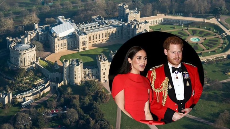 Meghan Markle and Prince Harry Are Moving to a New Villa - DemotiX