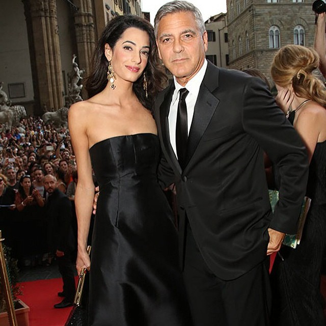 George Clooney Celebrates His 59th Birthday In Front Of ...