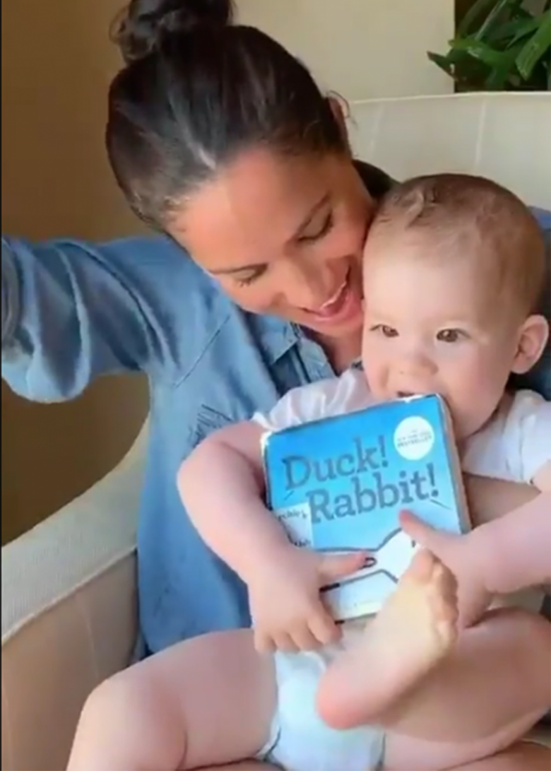 meghan markle shares a new video on baby archie s first birthday demotix meghan markle shares a new video on