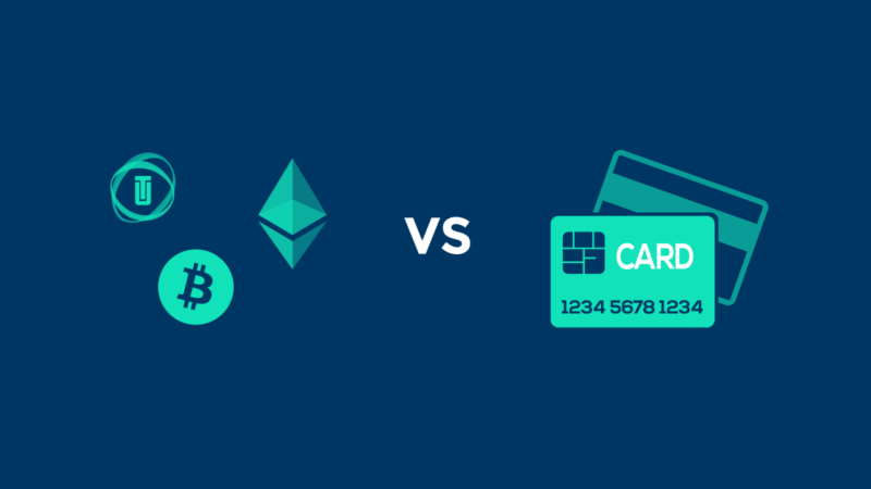 Cryptocurrency vs. Credit cards – 2020 Comparison Guide