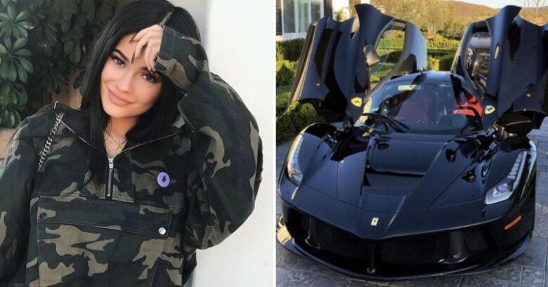 Kylie Jenner Ferrari LaFerrari