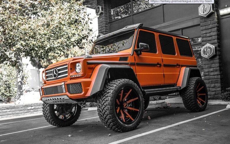 Kylie Jenner G-Wagon Orange